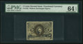 Fractional Currency:Second Issue, Fr. 1232 5¢ Second Issue PMG Choice Uncirculated 64 EPQ.. ...