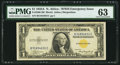 Small Size:World War II Emergency Notes, Fr. 2306 $1 1935A North Africa Silver Certificate. PMG Choice Uncirculated 63.. ...