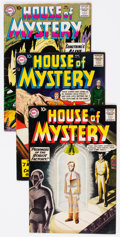 Silver Age (1956-1969):Horror, House of Mystery #77, 83, and 93 Group (DC, 1958-60) Condition:Average FN-.... (Total: 3 Comic Books)