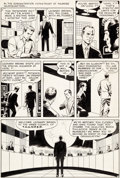 Original Comic Art:Panel Pages, Wally Wood T.H.U.N.D.E.R. Agents #1 Story Page 2 OriginalArt (Tower, 1965)....