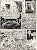 Original Comic Art:Panel Pages, Gilbert Shelton and Paul Mavrides The Fabulous Furry FreakBrothers #8 Page 14 Story Original Art (Rip Off Press, ...