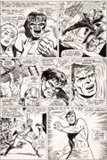 Original Comic Art:Panel Pages, Marie Severin and George Tuska Incredible Hulk #105 Page 3Original Art (Marvel, 1968)....