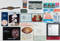 Miscellaneous Collectibles:General, Joe Morrison Collection of Programs, Letters and Ephemera....