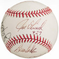 Autographs:Baseballs, 2009 New York Yankees Multi-Signed Baseball - Includes A-Rod,Jeter, & Rivera. ...