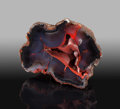 Lapidary Art:Carvings, Crater Agate. Chubut Province. Argentina. ...