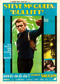"Movie Posters:Crime, Bullitt (Warner Brothers, 1970). Second Edition Italian 4 - Fogli(55"" X 77"") Roberto Ferrini Artwork.. ..."