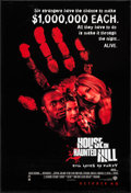"Movie Posters:Horror, House on Haunted Hill & Other Lot (Warner Brothers, 1999). One Sheets (3) (27"" X 40"" 27"" X 41"") DS Advance. Horror.. ... (Total: 3 Items)"
