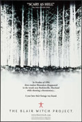 """Movie Posters:Horror, The Blair Witch Project (Artisan, 1999). One Sheet (27"""" X 39.5"""") DS. Horror.. ..."""