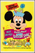 "Movie Posters:Animation, Mickey Mouse Happy Birthday Show & Other Lot (Buena Vista,R-1968). One Sheets (2) (27"" X 41""). Animation.. ... (Total: 2Items)"