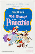 """Movie Posters:Animation, Pinocchio (Buena Vista, R-1978 & R-1984). One Sheet (2) (27"""" X41""""). Animation.. ... (Total: 2 Items)"""