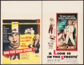 """Movie Posters:Drama, Bad for Each Other & Other Lot (Columbia, 1953). Window Cards (2) (14"""" X 22""""). Drama.. ... (Total: 2 Items)"""