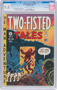 Two-Fisted Tales #22 Gaines File Pedigree 5/10 (EC, 1951) CGC NM/MT 9.8 Off-white to white pages
