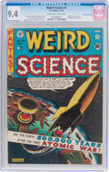 Golden Age (1938-1955):Science Fiction, Weird Science #5 Gaines File Pedigree (EC, 1951) CGC NM 9.4Off-white to white pages....