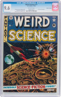 Golden Age (1938-1955):Science Fiction, Weird Science #11 Gaines File Pedigree 5/12 (EC, 1952) CGC NM+ 9.6Off-white pages....