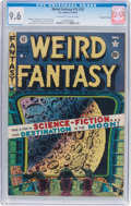 Golden Age (1938-1955):Science Fiction, Weird Fantasy #15 (#3) Gaines File Pedigree 10/11 (EC, 1950) CGCNM+ 9.6 Off-white to white pages....