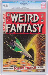 Weird Fantasy #10 Gaines File Pedigree (EC, 1951) CGC NM/MT 9.8 White pages
