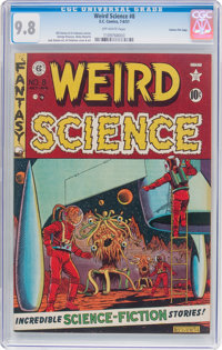 Weird Science #8 Gaines File Pedigree 5/12 (EC, 1951) CGC NM/MT 9.8 Off-white pages