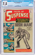 Silver Age (1956-1969):Superhero, Tales of Suspense #39 (Marvel, 1963) CGC VF- 7.5 Off-whitepages....