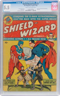 Golden Age (1938-1955):Superhero, Shield-Wizard Comics #1 (MLJ, 1940) CGC FN- 5.5 Cream to off-white pages....