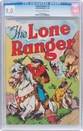 Golden Age (1938-1955):Western, Lone Ranger #1 (Dell, 1948) CGC VF/NM 9.0 Off-white to whitepages....