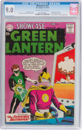 Silver Age (1956-1969):Superhero, Showcase #23 Green Lantern (DC, 1959) CGC VF/NM 9.0 Off-white to white pages....