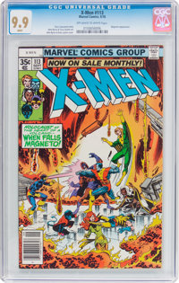 X-Men #113 (Marvel, 1978) CGC MT 9.9 Off-white to white pages