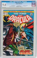Bronze Age (1970-1979):Horror, Tomb of Dracula #10 (Marvel, 1973) CGC NM/MT 9.8 Off-white to white pages....