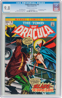 Tomb of Dracula #10 (Marvel, 1973) CGC NM/MT 9.8 Off-white to white pages