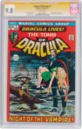 Bronze Age (1970-1979):Horror, Tomb of Dracula #1 Signature Series (Marvel, 1972) CGC NM/MT 9.8White pages....