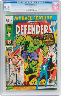 Marvel Feature #1 (Marvel, 1971) CGC NM/MT 9.8 White pages
