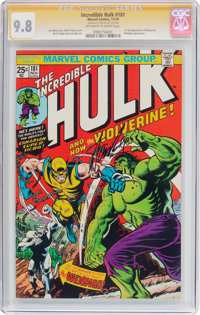 The Incredible Hulk #181 Signature Series (Marvel, 1974) CGC NM/MT 9.8 Off-white to white pages