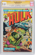 Bronze Age (1970-1979):Superhero, The Incredible Hulk #180 Signature Series (Marvel, 1974) CGC NM/MT 9.8 Off-white to white pages....