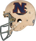 Football Collectibles:Helmets, 1973 Dick Butkus Signed Game Worn Pro Bowl Helmet....