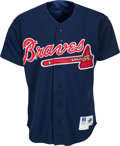 Baseball Collectibles:Uniforms, 1994 Greg Maddux Batting Practice Worn Atlanta Braves Jersey. ...