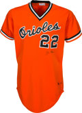 Baseball Collectibles:Uniforms, 1982 Jim Palmer Game Worn Baltimore Orioles Jersey. ...