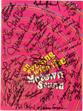 Music Memorabilia:Autographs and Signed Items, Michael Jackson and Others Signed An Evening with the MotownSound Concert Program (Motown Records, 1967)....