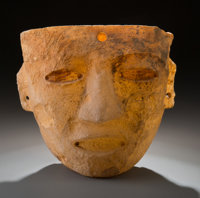 A Teotihuacan Stone Mask
