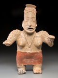 Pre-Columbian:Ceramics, An Ameca Jalisco Standing Female...