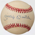 Autographs:Baseballs, Mickey Mantle Single Signed Baseball. ...