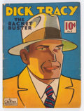 Golden Age (1938-1955):Adventure, Large Feature Comic (Series I) #8 Dick Tracy (Dell, 1939) Condition: GD....