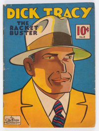 Large Feature Comic (Series I) #8 Dick Tracy (Dell, 1939) Condition: GD