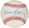 Autographs:Baseballs, Gene Autry Single Signed Baseball....