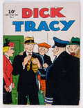 Golden Age (1938-1955):Crime, Large Feature Comic (Series II) #3 Dick Tracy (Dell, 1942) Condition: Average VG....