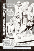 Original Comic Art:Splash Pages, Gray Morrow The Spectre #12 Splash Page 1 Original Art (DC,1987)....