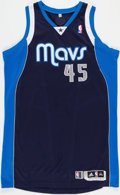 Basketball Collectibles:Uniforms, 2013-14 DeJuan Blair Game Worn Dallas Mavericks Jersey Purchasedfrom Team. ...