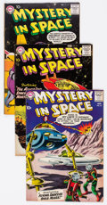 Silver Age (1956-1969):Science Fiction, Mystery in Space #44, 45, and 49 Group (DC, 1958-59) Condition:Average FN/VF.... (Total: 3 Comic Books)