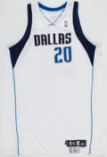 Basketball Collectibles:Uniforms, 2007-08 Jamaal Magloire Game Worn Dallas Mavericks Jersey withMeiGray Label. ...