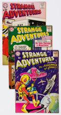Silver Age (1956-1969):Science Fiction, Strange Adventures #90 and 94-97 Group (DC, 1958).... (Total: 5 Comic Books)