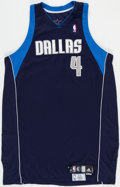 Basketball Collectibles:Uniforms, 2008-09 Shawne Williams Game Worn Dallas Mavericks Jersey withMeiGray Label. ...