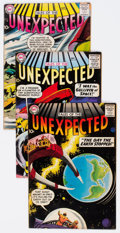 Silver Age (1956-1969):Horror, Tales of the Unexpected #28, 31, and 32 Group (DC, 1958) Condition:Average FN+.... (Total: 3 Comic Books)